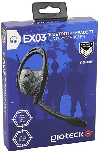 Gioteck - Headset Bluetooth Ex03 - Military Edition (PS3)
