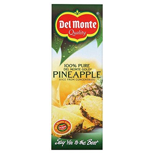 Del Monte-Qualität 100% Pure Del Monte Gold-Ananassaft aus Konzentrat 1 Liter (Packung mit 6 x 1ltr)
