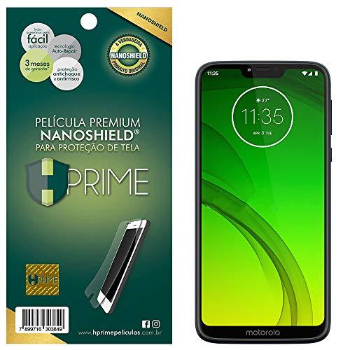 Pelicula NanoShield para Motorola Moto G7 Power, Hprime, Película Protetora de Tela para Celular, Transparente