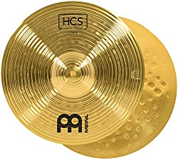 """commercial Meinl 13 """"Hihat Cymbal Pair – Traditional Finished Copper HCS for Drums, Made… zildjian hi hat"""