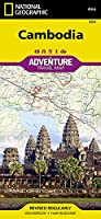 National Geographic Adventure Travel Map Cambodia (National Geographic Adventure Travel Map Asia)