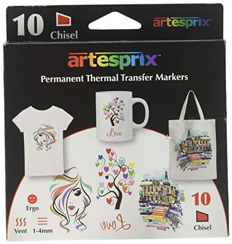 Artesprix Iron-On-Ink Sublimation Markers 10/Pkg-Original