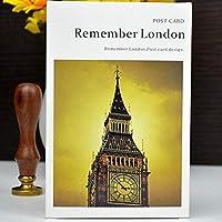 30pcsはロンドンのポストカードヴィンテージ美しいヨーロッパイングランドロンドンの風景poカードの家の装飾を覚えています