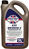 ATF Dexron 2 Power Steering Fluid/Automatic Transmission Fluid DII 5 Litres - Made