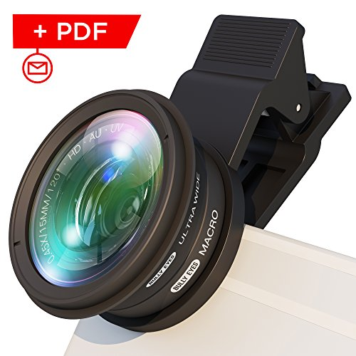 Phone camera lens attachment