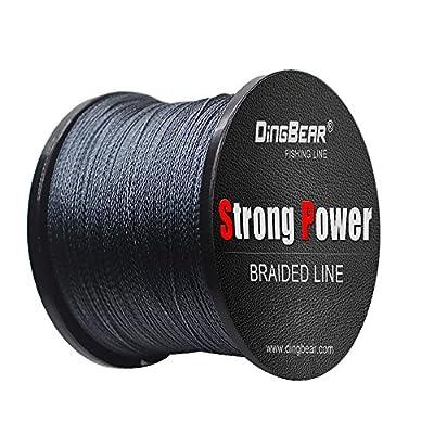 Dingbear 437Yd-5000Yd Super Strong Pull Generic Braided Fishing Line Fishing Lines FishLines FishingLine by DINGBEAR