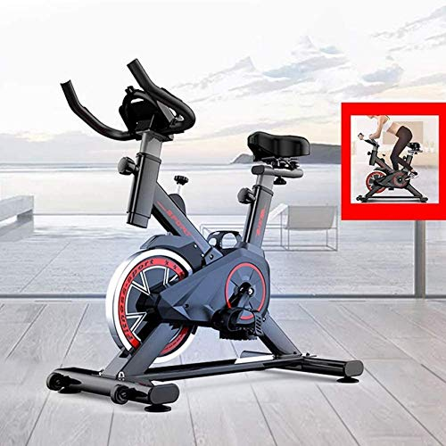 YYhkeby 2020 Bicicleta de Ciclo Interior Biciclación de Ciclismo Ejercicio Inicio Gimnasio Equipo de Bicicleta con Pantalla LCD Jialele