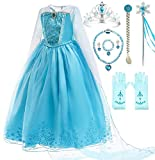 Romy's Collection Blue Party Costume Cape Dress-Up Set (2-3, Blue)