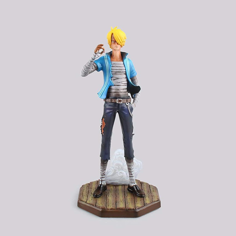 edición limitada LJBOZ One One One Piece Anime Statue Vinsmoke Sanji Modelo de Juguete Colección de artesanías de decoración de PVC Anime - Cabeza reemplazable - 9in Estatua de Juguete  venta de ofertas