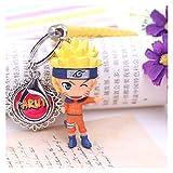 TYUXINSD Hermosa Llavero Sasuke/Itachi/Kakashi Llavero Colgante Anime Anillo de Llaves de Dibujos Animados Naruto Key Ring Hombres Llavero (Color: ZZZ) (Color : Mr)