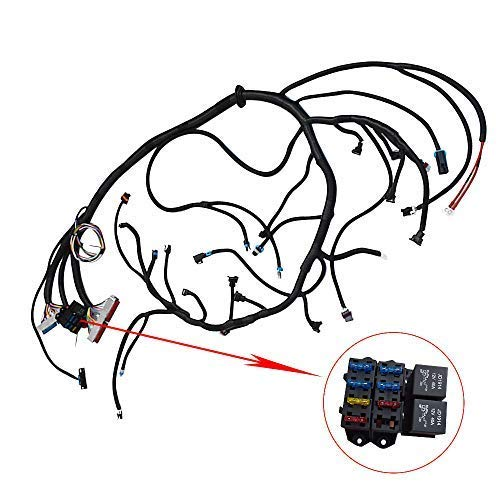 labwork Wiring Harness T56 or Non-Electric Tran 4.8 5.3 6.0 Fit for 1997-2006 DBC Ls1 Standalone +36