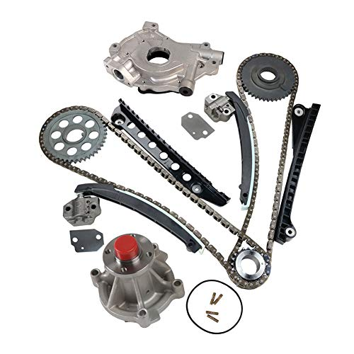 MOCA Timing Chain Kit & Oil Water Pump Compatible with 2003-2011 for Ford E-150 & for Ford F-250 Super Duty & for Ford Expedition F-150 5.4L V8 SOHC