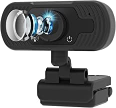 Webcam with Microphone,FUVISION Web Cameras for Computers 1080P,Web Cam for Zoom Video Conference, YouTube,Recording, Skyp...