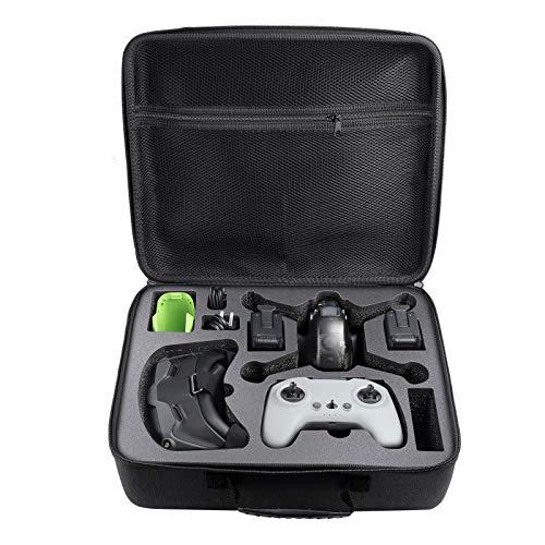 DJFEI Custodia Rigida Impermeabile per DJI FPV Combo Drone, Custodia Rigida Portatile Custodia per Drone Combo FPV/Controller di Movimento FPV/Batteria Combinata FPV e Accessori