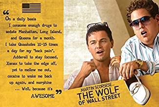 Wolf of Wall Street Movie Promo Poster 36