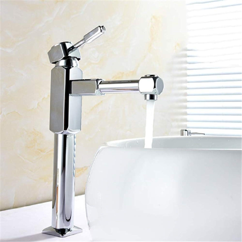 Bad Messing verchromt warme und kalte Waschtischmischer.Einhebel einlochmontage moderne mode bad bad waschbecken wasserhahn über aufsatzbecken erhhung waschbecken wasserhahn