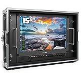 BM150-4KS Monitor Lilliput 15,6' 3840x2160 3D LUTS e HDR in Flight Case
