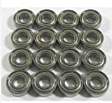 CNCTEC Rodamientos de bolas de alto rendimiento para TRAXXAS Slash 4x4...