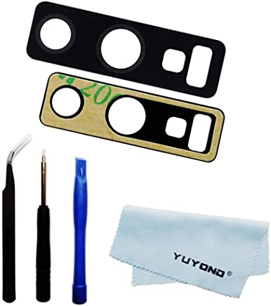 YUYOND Back Rear Camera Glass Lens Replacement with...