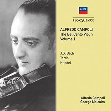 Alfredo Campoli: The Bel Canto Violin - Vol. 1