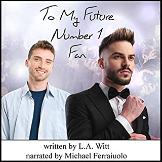 To My Future Number 1 Fan audiobook cover art