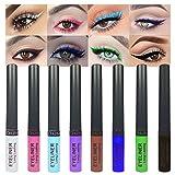 evpct 8 Colors Colored Matte Liquid Eyeliner Colorful...