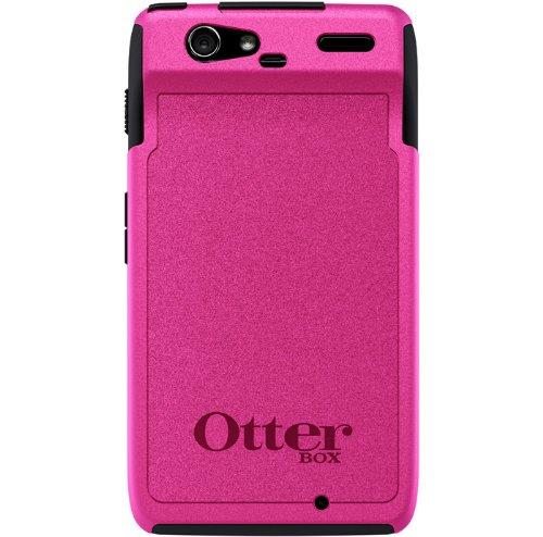 Otterbox Motorola Droid RAZR Commuter Case - Black/Pink ::Motorola Droid RAZR