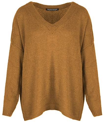 Emma & Giovanni - wol trui oversized (Made in Italy) - dames