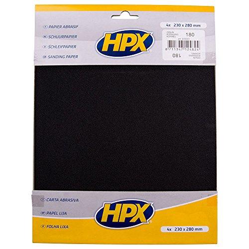 HPX 235931 P180 Pack de 4 Papiers abrasifs