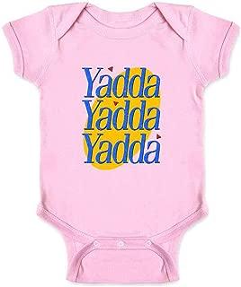 Yadda Yadda Yadda Funny Quote TV Show Infant Baby Boy Girl Bodysuit