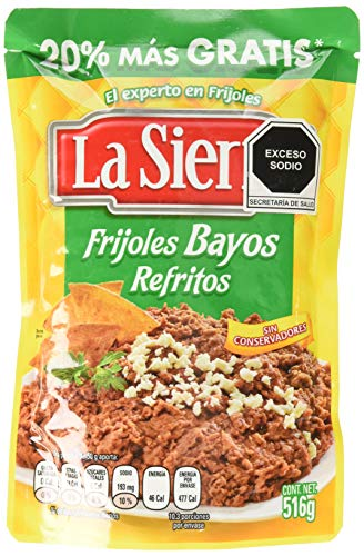 La Sierra - Fagioli bianchi fritti pronti da riscaldare e...