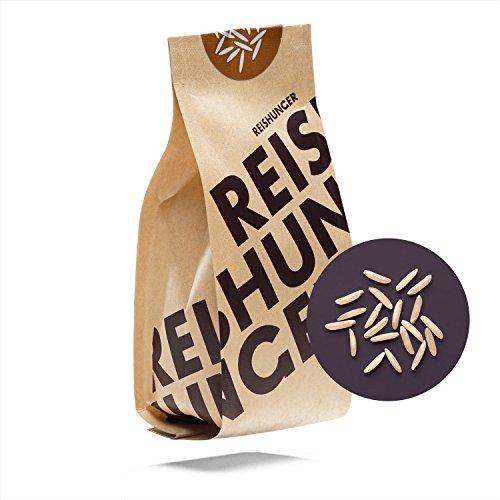 Reishunger BIO Vollkorn Basmati Reis, Pakistan, Premium-Qualität aus dem Himalaya - 3 kg - Sorte: Super Basmati, 100% Sortenrein - erhältlich in 200 g bis 9kg