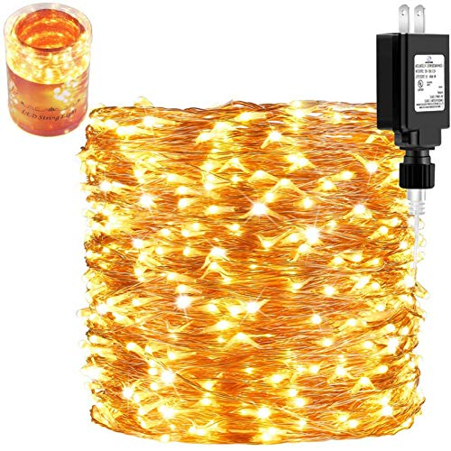 165 Ft Ultra Long 500 LEDs LED String Lights Plug in,...