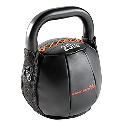 Bionic Body Soft Kettlebell with Handle - 10, 15, 20, 25, 30, 35, 40 lb. for Weightlifting, Conditioning, Strength and core Training from Impex Inc. - DROPSHIP