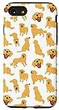 iPhone SE (2020) / 7 / 8 Dog Pattern Golden Retriever Dog Lover Puppy Dog Owner Gift Case