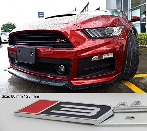 B277 Roush Mustang Stage 3 Emblem 3D Kühlergrill vorn Badge car Sticker Frontgrill auto