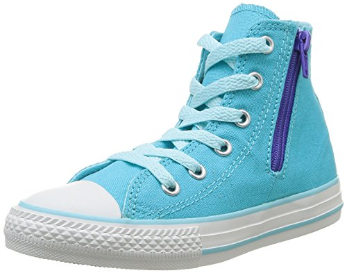Converse Chuck Taylor All Star 391461/34/22, Unisex - Kinder Sneakers, Türkis - Turquoise, EU 33