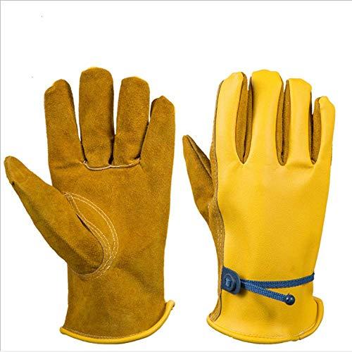 APCHY Tuin Tuinieren Lederen Pu Handschoenen Oliebestendige Beschermende Handschoenen Arbeidsverzekering benodigdheden Barbecue Handschoenen helpen om Dig Tuin