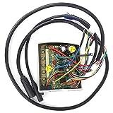 Onewer Controlador De Motor Intermedio En El Interior, Controlador Integrado De Motor Intermedio, Bicicleta Eléctrica Práctica para Conversión De Bicicleta Eléctrica(Núcleo 48V8)