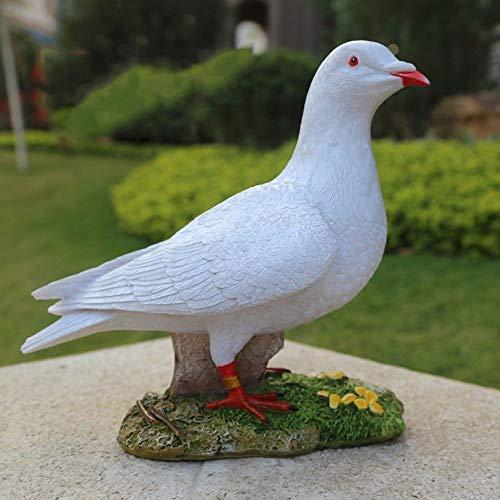 WSJF Hars Duif Standbeelden Simulatie Ornamenten Tuinbeelden Tuin Decoraties Outdoor Vogel Sculptuur Meubels Home Decoratie