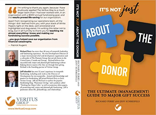 It's Not JUST About the Donor: The Ultimate (Management) Guide to Major Gift Success (English Edition)