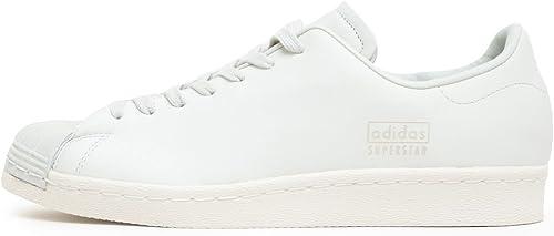 Adidas Originals Superstar 80s Clean, Crystal Weiß-Crystal Weiß-Off Weiß