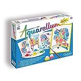 Aquarellum Junior, Malset für Kinder, Einhörner, Bastelset, Kreativ-Set, DIY -