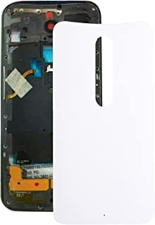 Mobile Phones Communication Accessories Battery Back Cover for Motorola Moto X (Green) (Color : White)