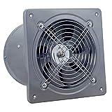 SHYPT Ventilador de Escape de 40 W, Ventilador de Ventana de Techo de 240 V, Extractor Impermeable, Ventilador de Tubo de ventilación de Escape, Ventilador de Limpieza de Aire de baño y Cocina