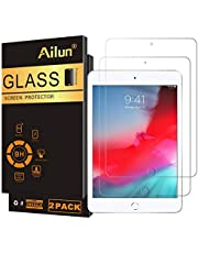 Ailun Screen Protector Compatible With Ipad Mini 4 Ipad Mini 5 2019 2Pack Tempered Glass 2.5D Edge Ultra Clear Transparency Anti Scratches Case Friendly