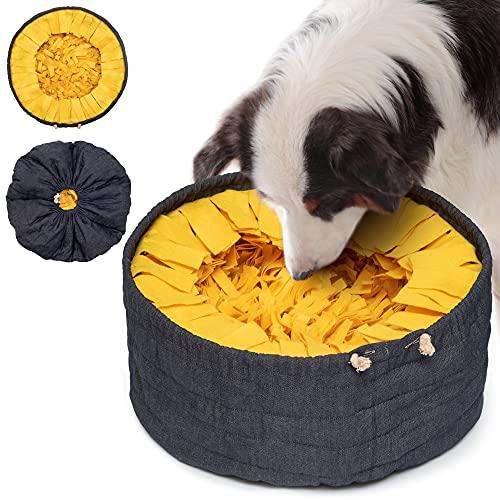 Lixdee Tappetino Olfattivo Cane Sniffing Tappeto Per Cani Snuffle Mat Sniffing Mat Olfattivo Attivazione Mentale Cane Tappeto Cane Giochi Intelligenza Giochi Interattivi Per Cani Gatti