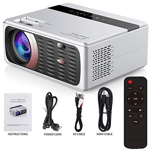 Fanuse CP600 1280X720P LED 8000 Lumen Projektor Filmprojektor 720P Full HD WiFi LCD Heimkino EU Stecker