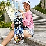 Zoom IMG-1 hikole skateboard completo in legno