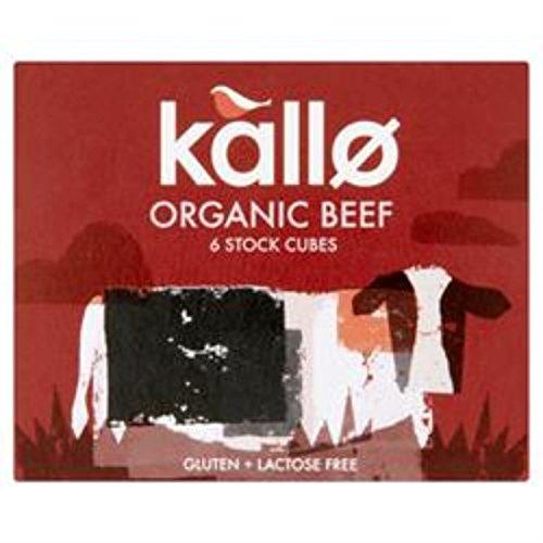 Kallo Organic Beef Stock Cubes 66g (Case of 15)